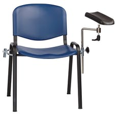 Sunflower Phlebotomy Chair - Moulded Seat
