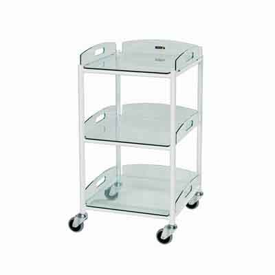 Sunflower Small Dressing Trolleys Glass Trays
