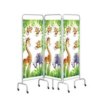 Sunflower Medical 3 Panel Jungle Screens