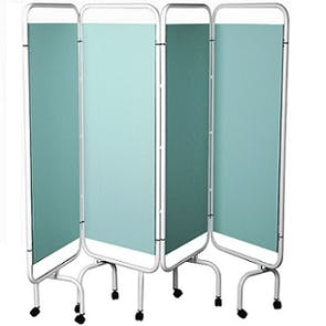 Superior Vinyl Medical Screens 4 Panel