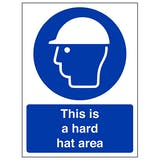 Head Protection Signage