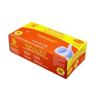 Standard Powder Free Blue Nitrile Gloves AQL 1.5