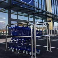 Trolley Bay - Stainless Steel