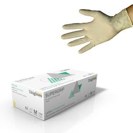 Unigloves Supergrip Latex Gloves