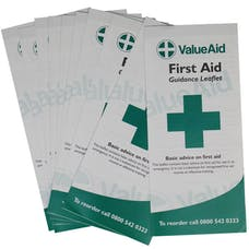 Value Aid First Aid Guidance Leaflet