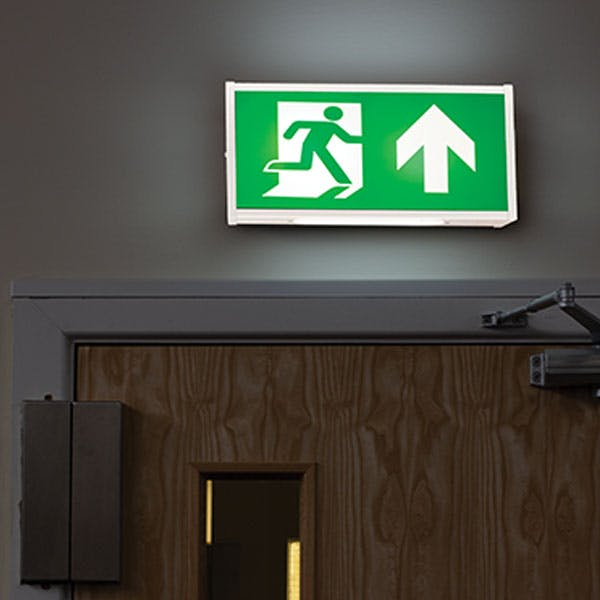 Illuminated Emergency Exit Signs