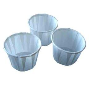 Waxed Paper Medicine Pots