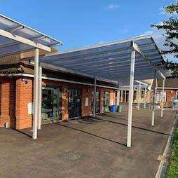 Entrance Shelters & Walkways
