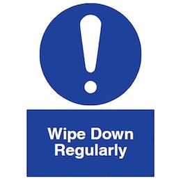 Wipe Down Regularly