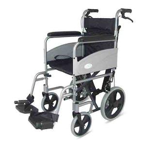 Z-Tec Economy Folding Transit Wheelchair