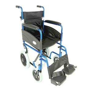 Z-Tec Folding Transit Wheelchair 20